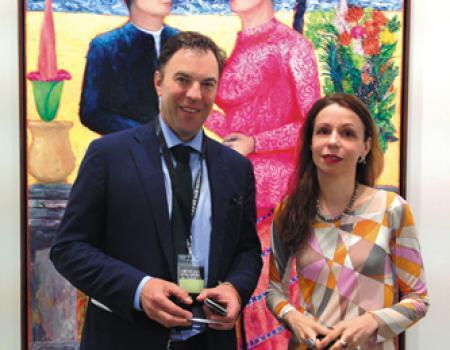 Mathias Ardnt and Jelena von Olnhausen