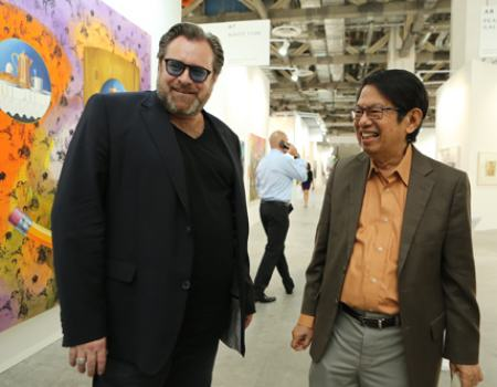 Lorenzo Rudolf and Dr. Oei Hong Djien